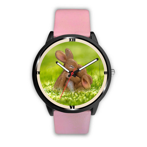 Cute Easter Bunny Print Wrist Watch
