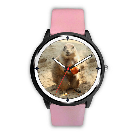 Prairie Dog Rodent Print Wrist Watch