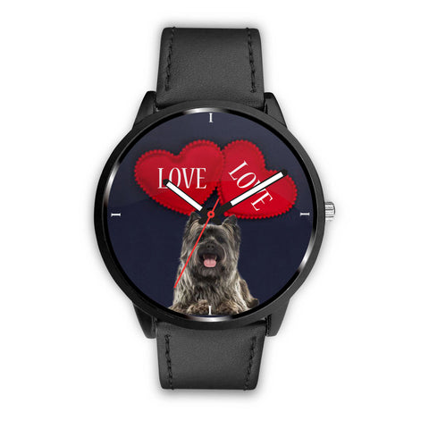 Cairn Terrier Dog Love Print Wrist Watch
