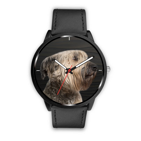 Cute Bouvier des Flandres Dog Print Wrist Watch