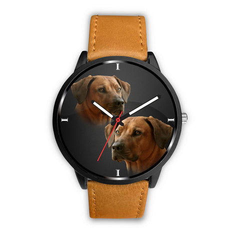 Cute Rhodesian Ridgeback Dog Print Wrist Watch