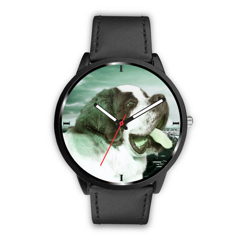 Cute Saint Bernard Print Wrist Watch Limited Edition