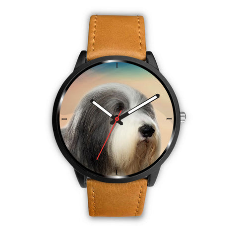 Bearded Collie Print Wrist Watch