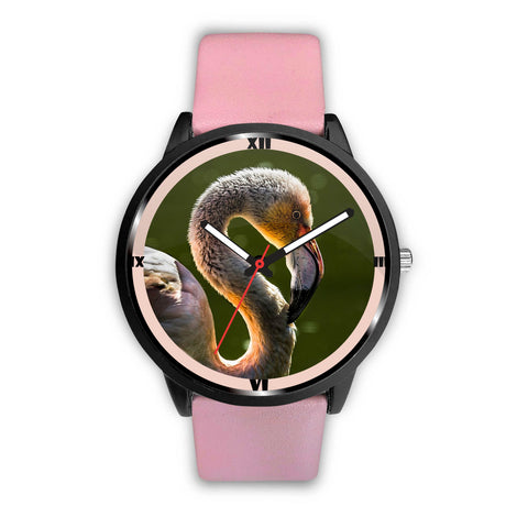 Lovely Swan Print Wrist Watch