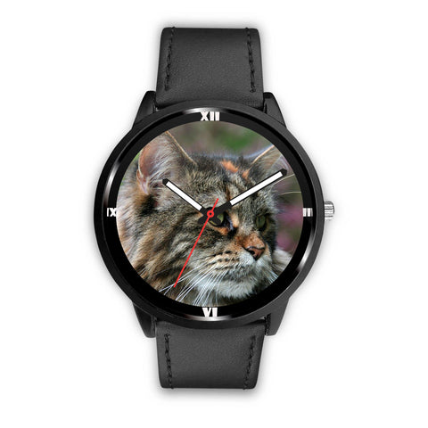 Beautiful Maine Coon Cat Print Wrist Watch