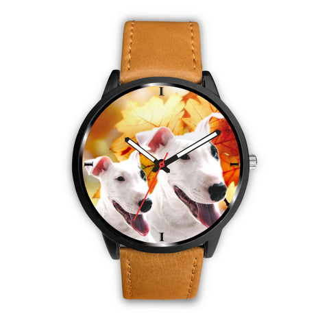 Lovely Bull Terrier Print Wrist Watch