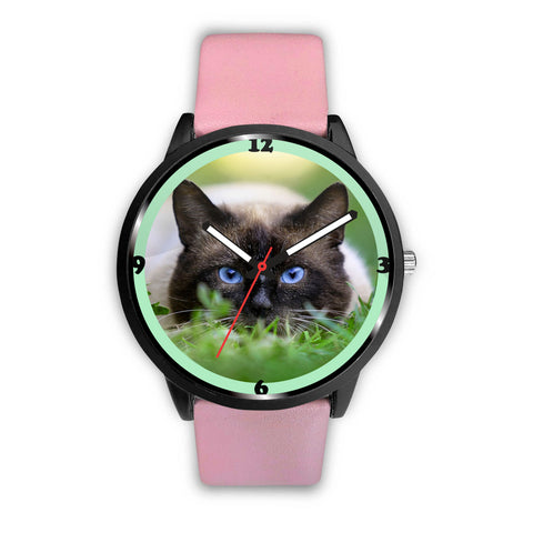 Amazing Siamese Cat Print Wrist Watch