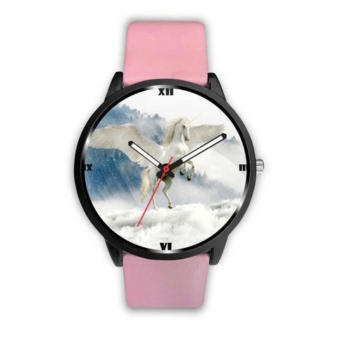 Flying Unicorn Print Wrist Watch