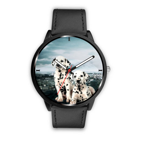 Cute Dalmatian Puppy Print Wrist Watch