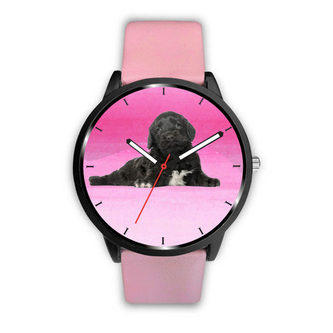 Amazing Portuguese Water Dog Print Wrist Watch