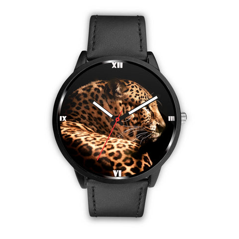 Leopard Print Wrist Watch
