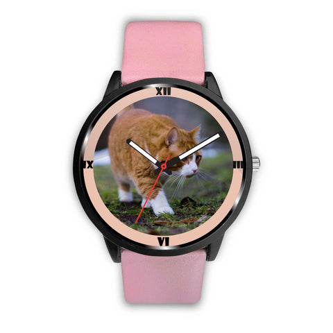 Amazing Siberian Cat Print Wrist Watch