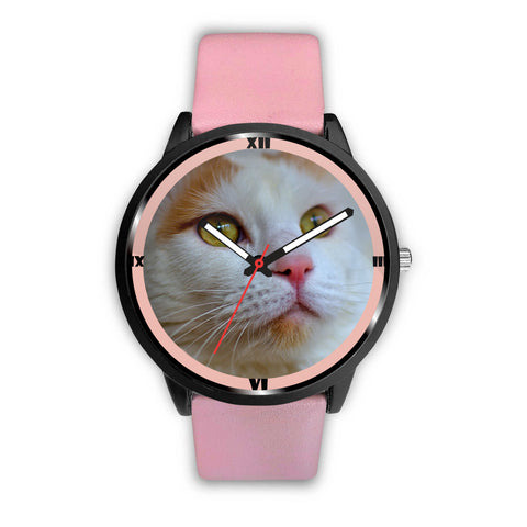 Amazing Turkish Van Cat Print Wrist Watch