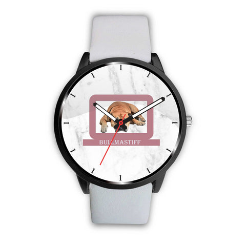 Bullmastiff Print Wrist Watch