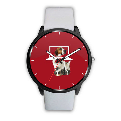 English Foxhound Dog Print Wrist Watch
