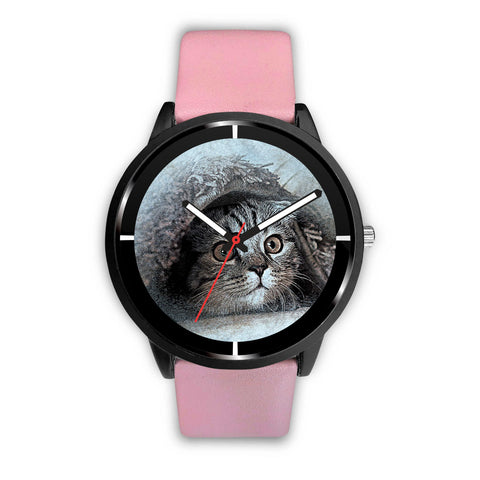 Cat Art Print Limited Edition Wrist Watch