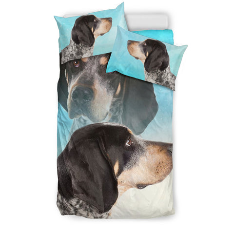 Bluetick Coonhound Dog Print Bedding Sets