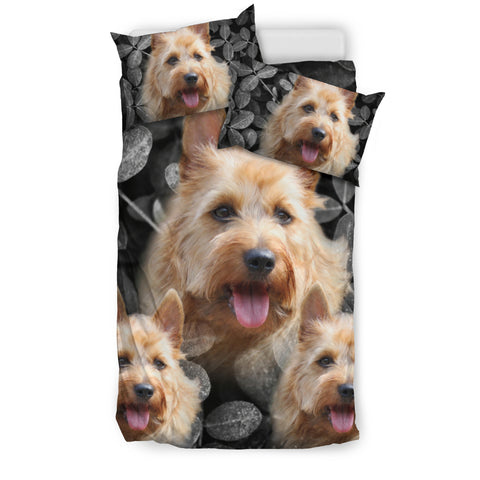 Cute Australian Terrier Print Bedding Set