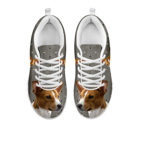 Amazing Basenji Print Running Shoes For WomenFor 24 Hours Only