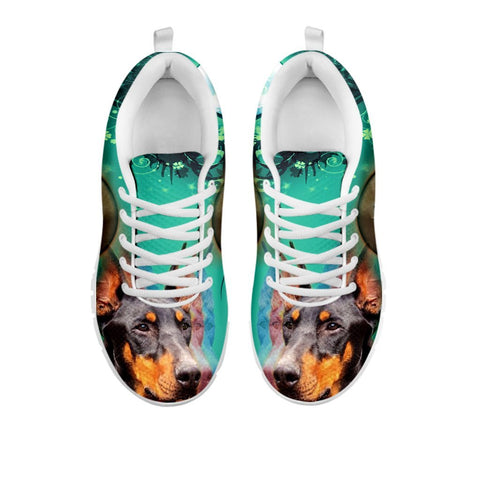 Doberman Pinscher 3D Print Sneakers For WomenFor 24 Hours Only