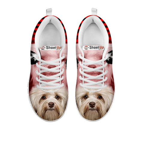 Cute Havanese Print Running Shoe For WomenFor 24 Hours Only
