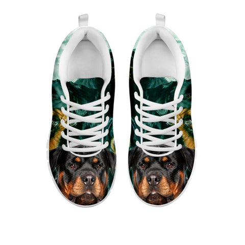 Rottweiler Print Sneakers For Women