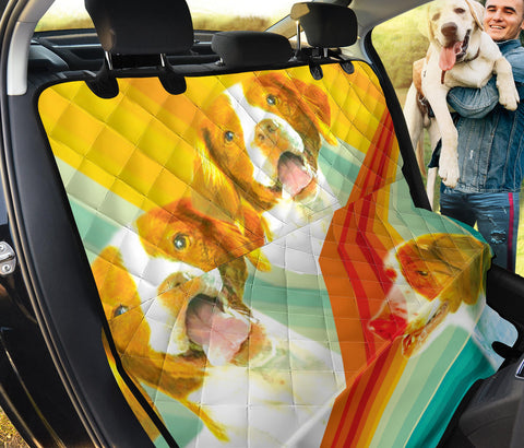 Cute Brittany Dog Print Pet Seat covers