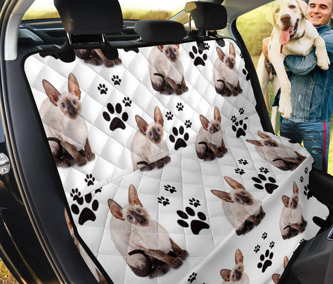 Cornish Rex cat Print Pet Seat covers