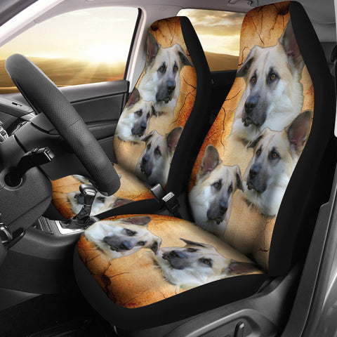 Chinook Dog Print Car Seat Covers