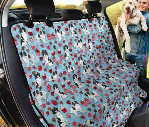 Japanese Chin Pattern Print Pet Seat Cover
