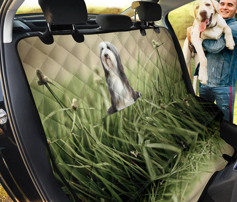 Bearded Collie Print Pet Seat Covers- Limited Edition