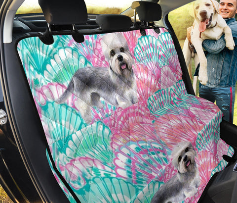 Cute Dandie Dinmont Terrier Print Pet Seat Covers