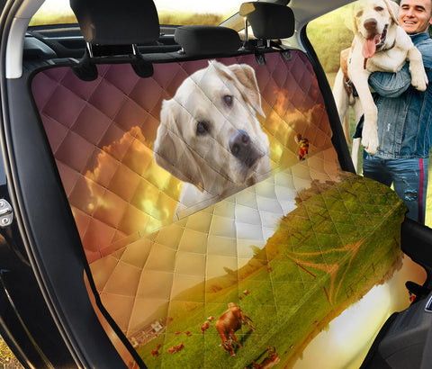 Labrador Retriever Print Pet Seat Covers