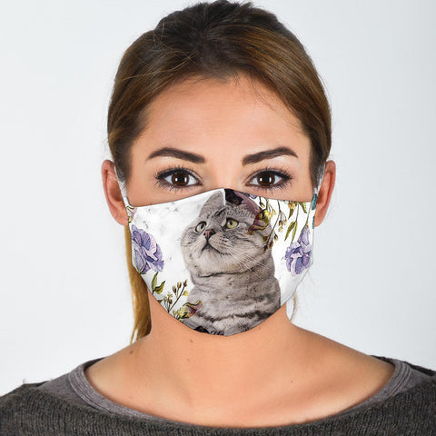 Lovely American Shorthair Print Face Mask- Limited Edition