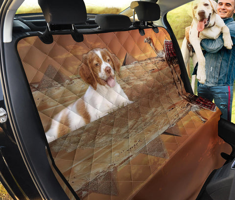 Amazing Brittany Dog Print Pet Seat Covers