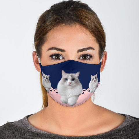 Cute Ragdoll Cats Print Face Mask