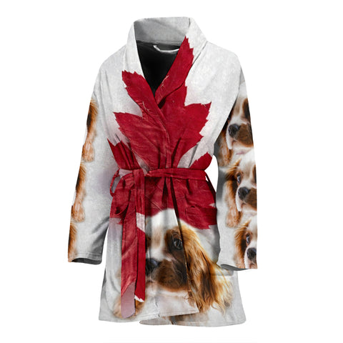 Cavalier King Charles Spaniel Women's Bath Robe