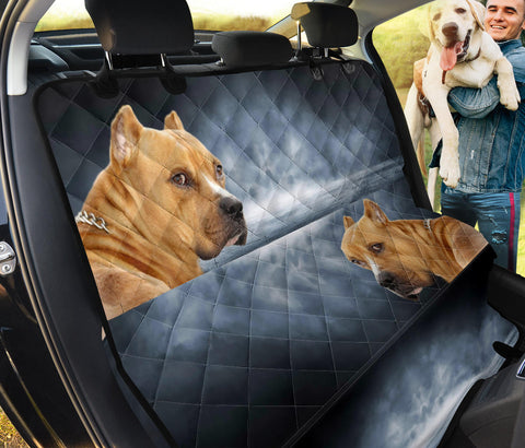American Staffordshire Terrier Print Pet Seat Covers- Limited Edition