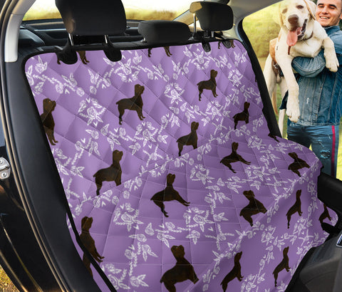 Boykin Spaniel Floral Patterns Print Pet Seat Covers