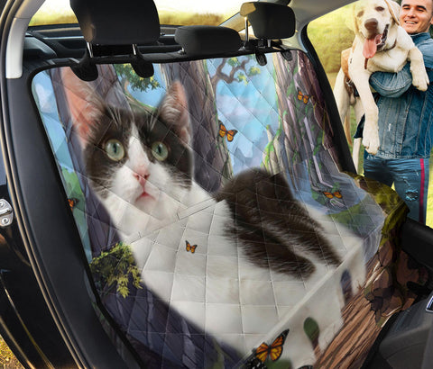 Munchkin Cat Print Pet Seat Covers