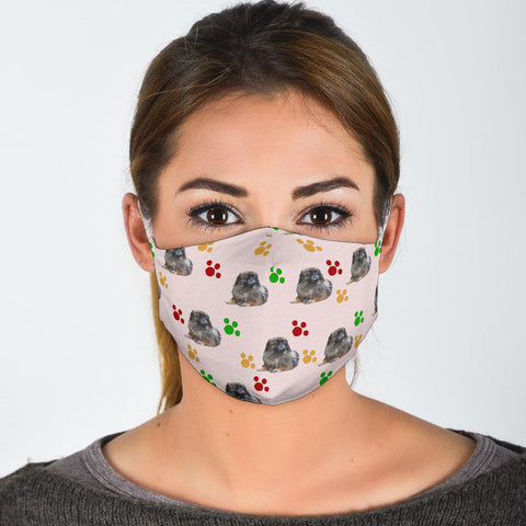 Pekingese Patterns Print Face Mask