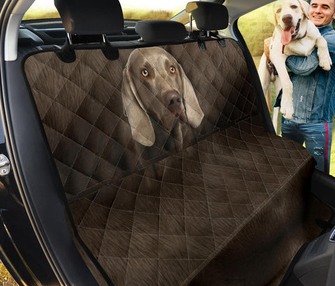 Weimaraner Dog Print Pet Seat Covers