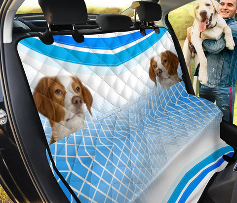 Brittany Dog Print Pet Seat covers