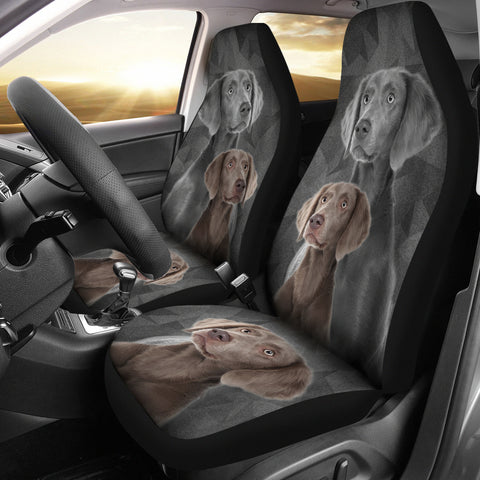 Weimaraner Print Car Seat Cover