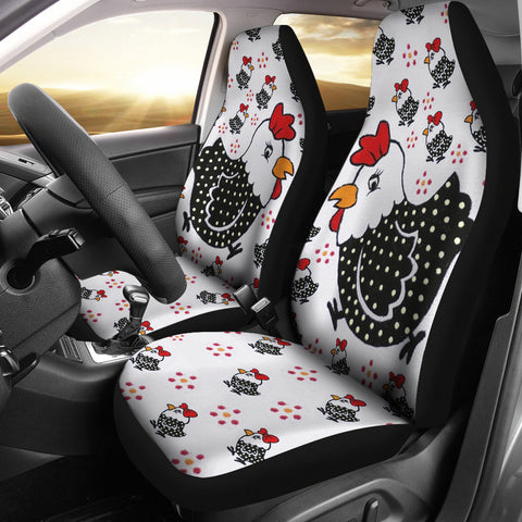 Cute birds Print Car Seat Covers