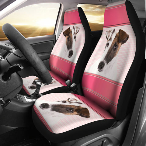 Smooth Fox Terrier Dog Print Car Seat Covers