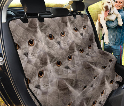 British Shorthair Cat Patterns Print Pet Seat Covers