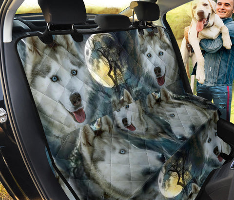 Amazing Siberian Husky Print Pet Seat Covers