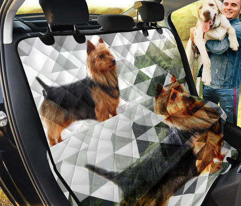 Australian Terrier Print Pet Seat covers
