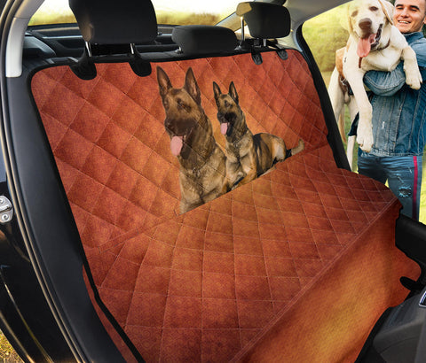 Malinois Dog Print Pet Seat Covers- Limited Edition